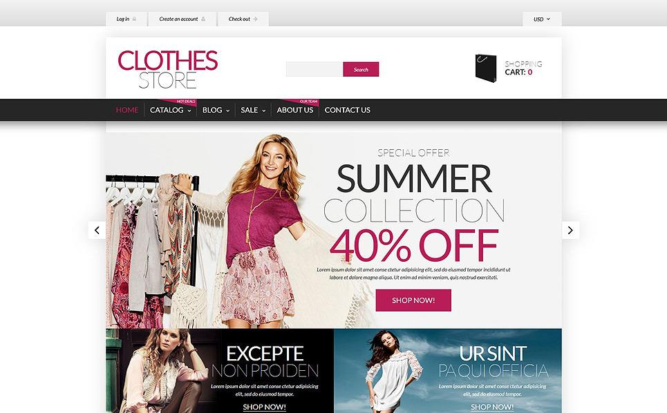Responsywny szablon Shopify #53683 na temat: odzież New Screenshots BIG