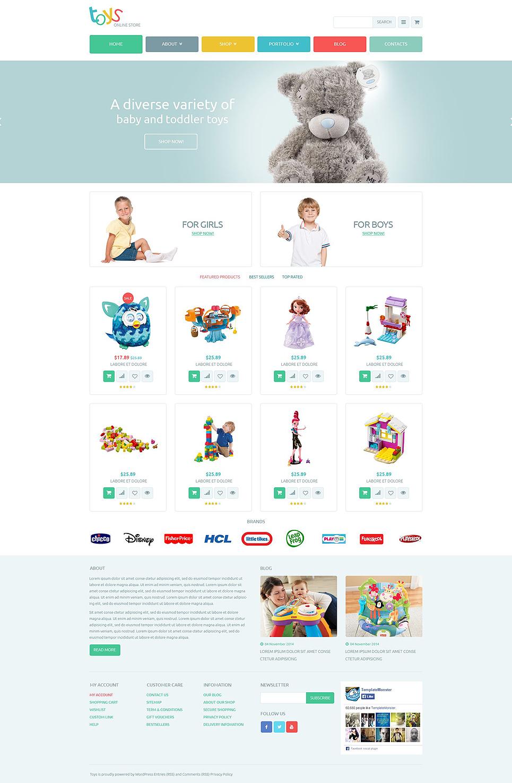 toy shop woocommerce theme