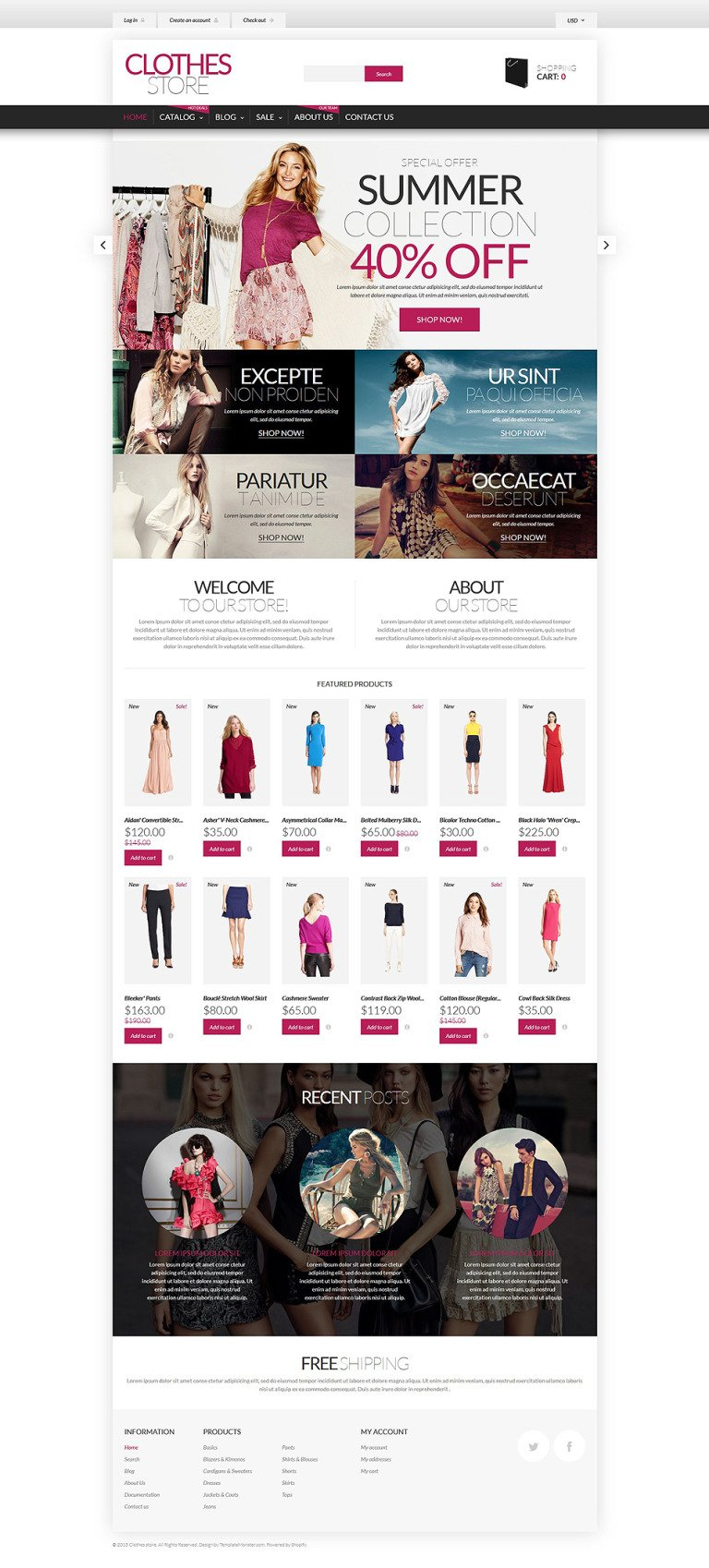 Shopping in Style Shopify Theme New Screenshots BIG