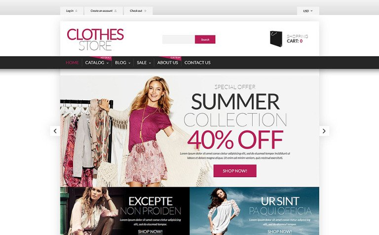 Shopping in Style Shopify Theme