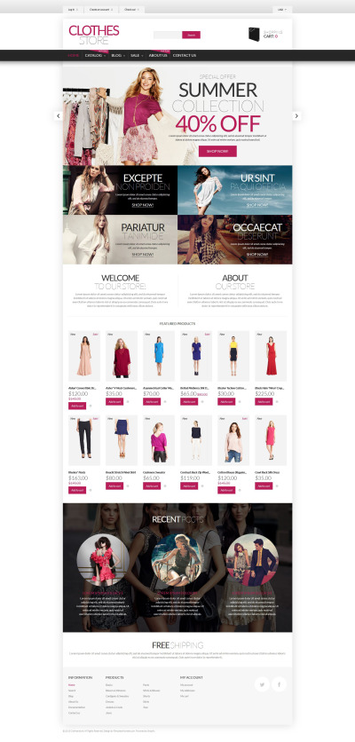 Shopping in Style Shopify Theme #53683