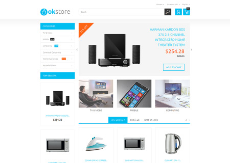 Tech Gear Prestashop Store