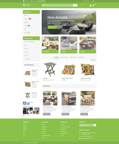 Responsive Tema De PrestaShop #53694 para Sitio de  para Sitio de Muebles