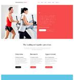 Medical Website  Template 53703