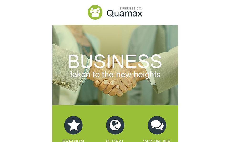 Reszponzív Üzlet és szolgáltatások Hírlevél sablon New Screenshots BIG