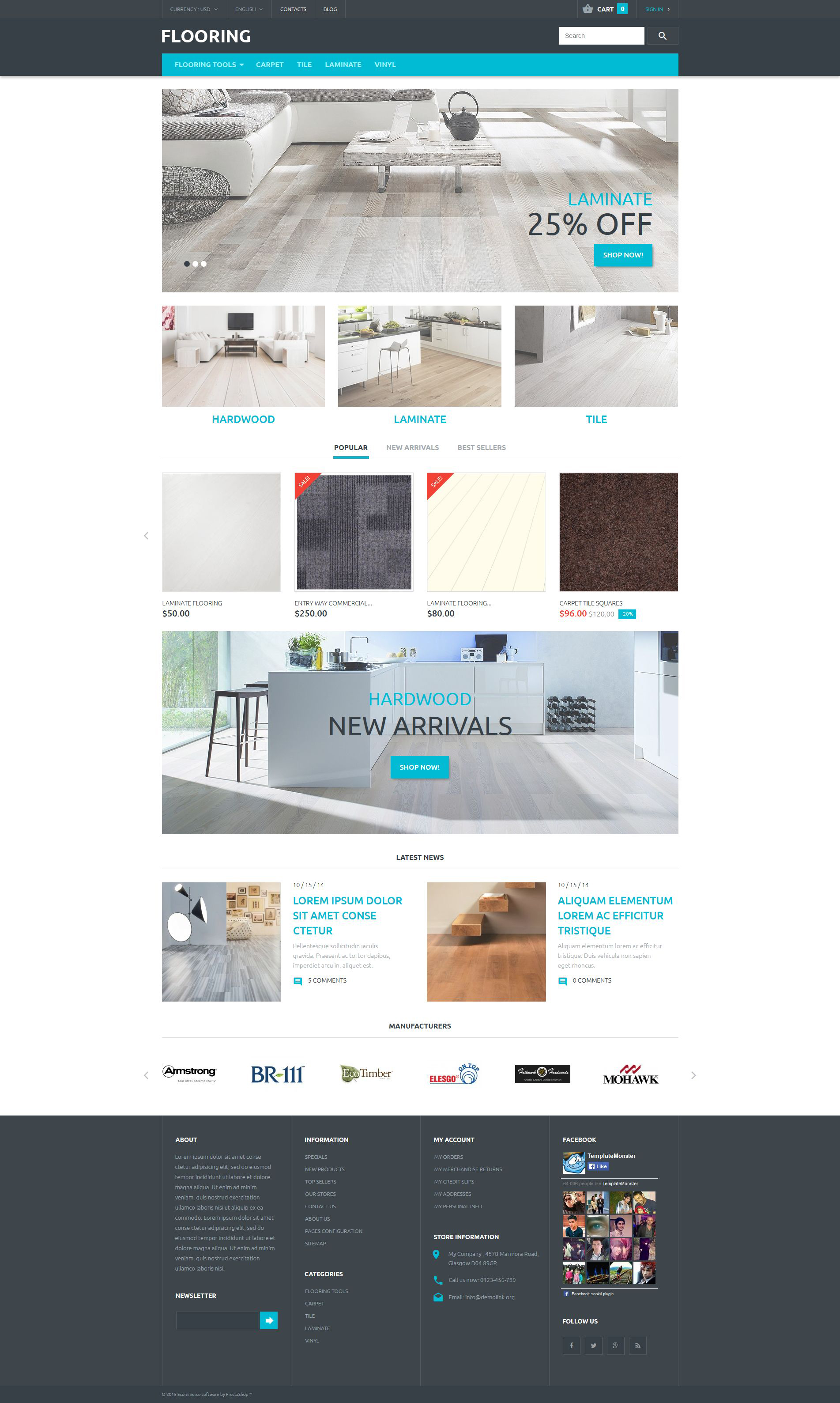 The Flooring Floor PrestaShop Design 53710, one of the best PrestaShop themes of its kind (interior & furniture, most popular), also known as flooring floor PrestaShop template, flooring online store PrestaShop template, shop PrestaShop template, laminat PrestaShop template, wood PrestaShop template, carpet PrestaShop template, area PrestaShop template, rugs PrestaShop template, cork PrestaShop template, overhaul PrestaShop template, maintenance PrestaShop template, shopping cart and related with flooring floor, flooring online store, shop, laminat, wood, carpet, area, rugs, cork, overhaul, maintenance, shopping cart, etc.