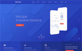 Responsivt PRO.Soft - Software Development Company Multipage HTML5 Hemsidemall