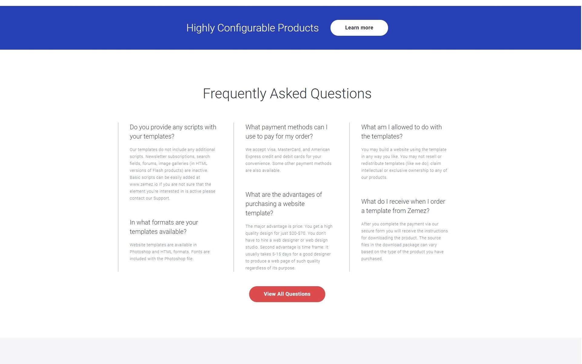 Software Development Company Multipage HTML5 Template