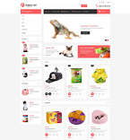 Animals & Pets OpenCart  Template 53712
