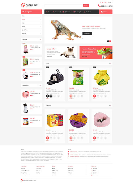 ADOBE Photoshop Template 53712 Home Page Screenshot