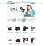 Electronics Magento Template 53713