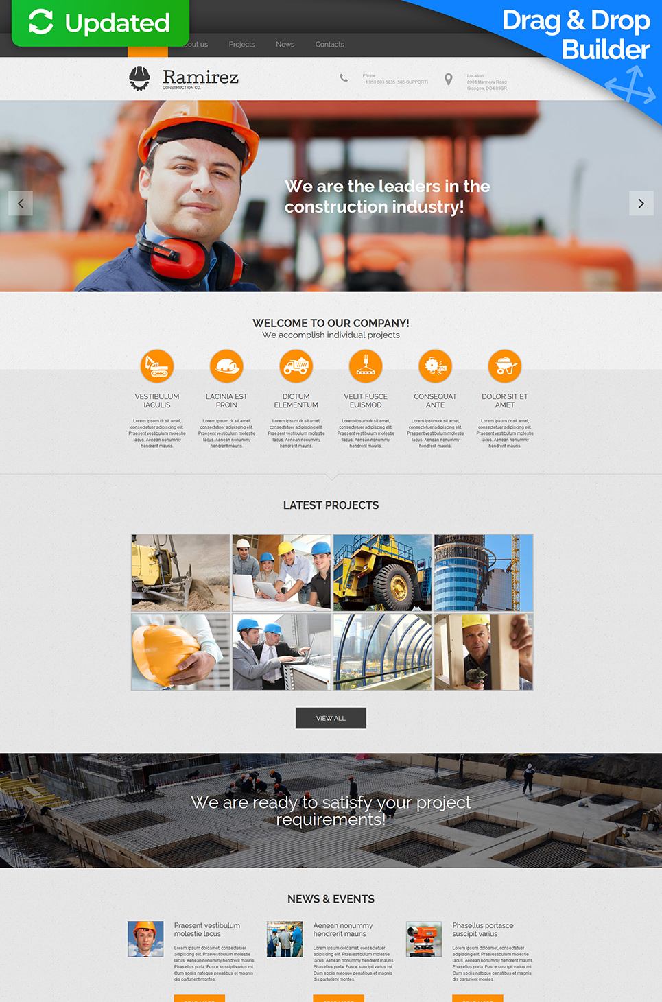 Website Design for Civil Engineers - image