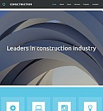 Architecture Moto CMS 3  Template 53730