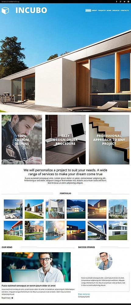 ADOBE Photoshop Template 53734 Home Page Screenshot