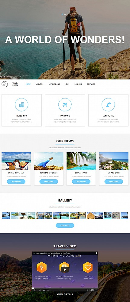 ADOBE Photoshop Template 53740 Home Page Screenshot