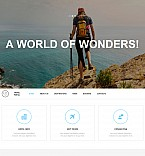 Travel Moto CMS 3  Template 53740