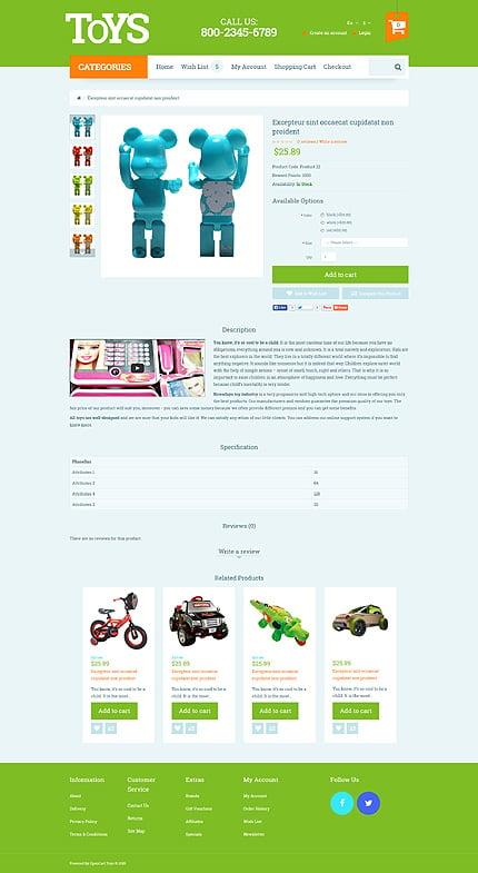 ADOBE Photoshop Template 53743 Home Page Screenshot
