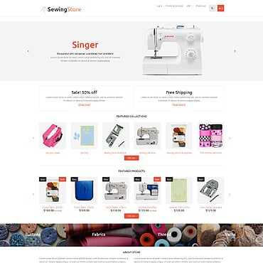 Most Popular Hobbies Amp Crafts Shopify Templates