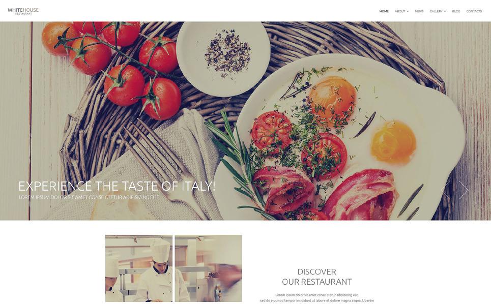 Responsywny szablon Drupal #53752 na temat: restauracja europejska New Screenshots BIG