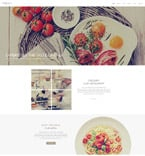 Cafe & Restaurant Drupal  Template 53752