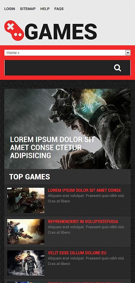 Drupal Template 53753 Main Page Screenshot