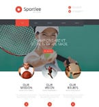 Sport Website  Template 53755