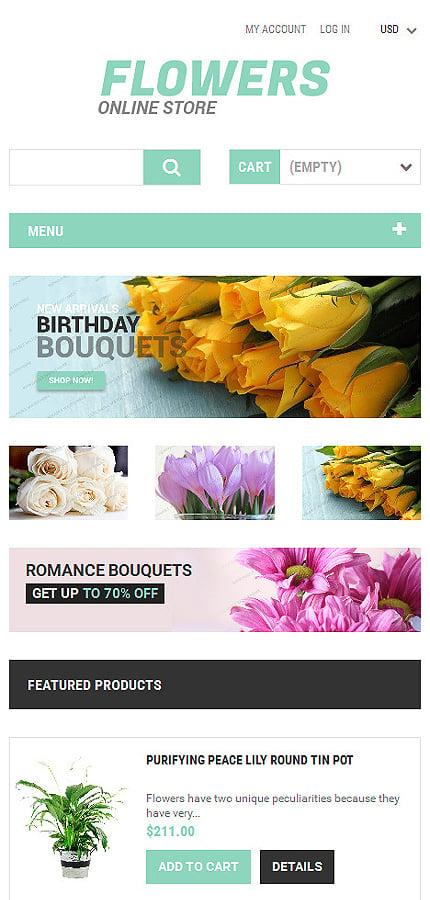 ZenCart Template 53757 Main Page Screenshot