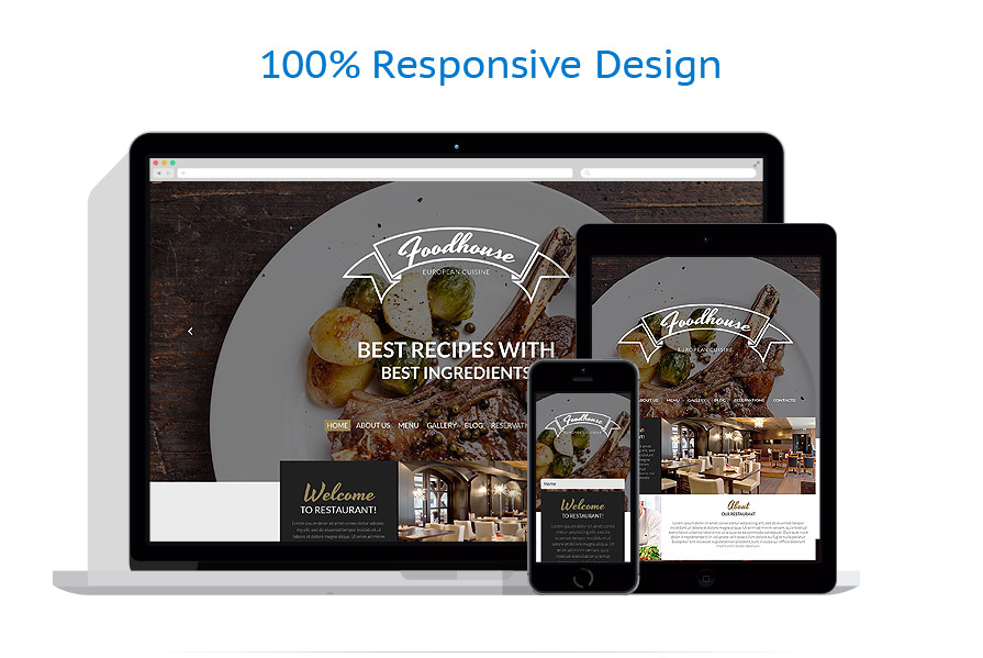 Thèmes WordPress Café et Restaurant #53766