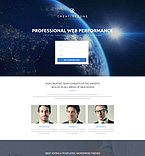 Web design Landing Page  Template 53775