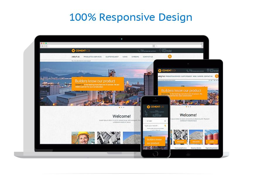 Modèles HTML5 Industriel #53776