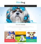 Animals & Pets Website  Template 53778