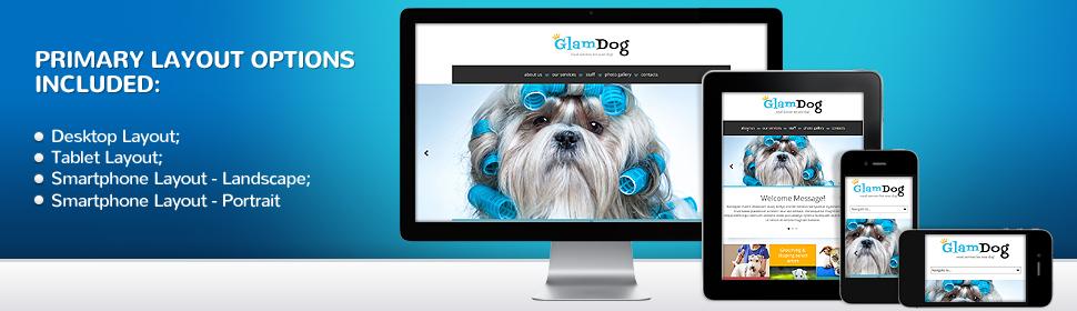 Animals & Pets Website Template 53778, Website Templates - Zeronese