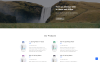 Water Multipage HTML5 Website Template Big Screenshot