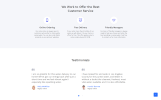 Water Multipage HTML5 Website Template