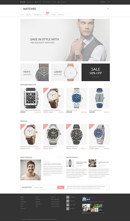 ADOBE Photoshop Template 53780 Home Page Screenshot