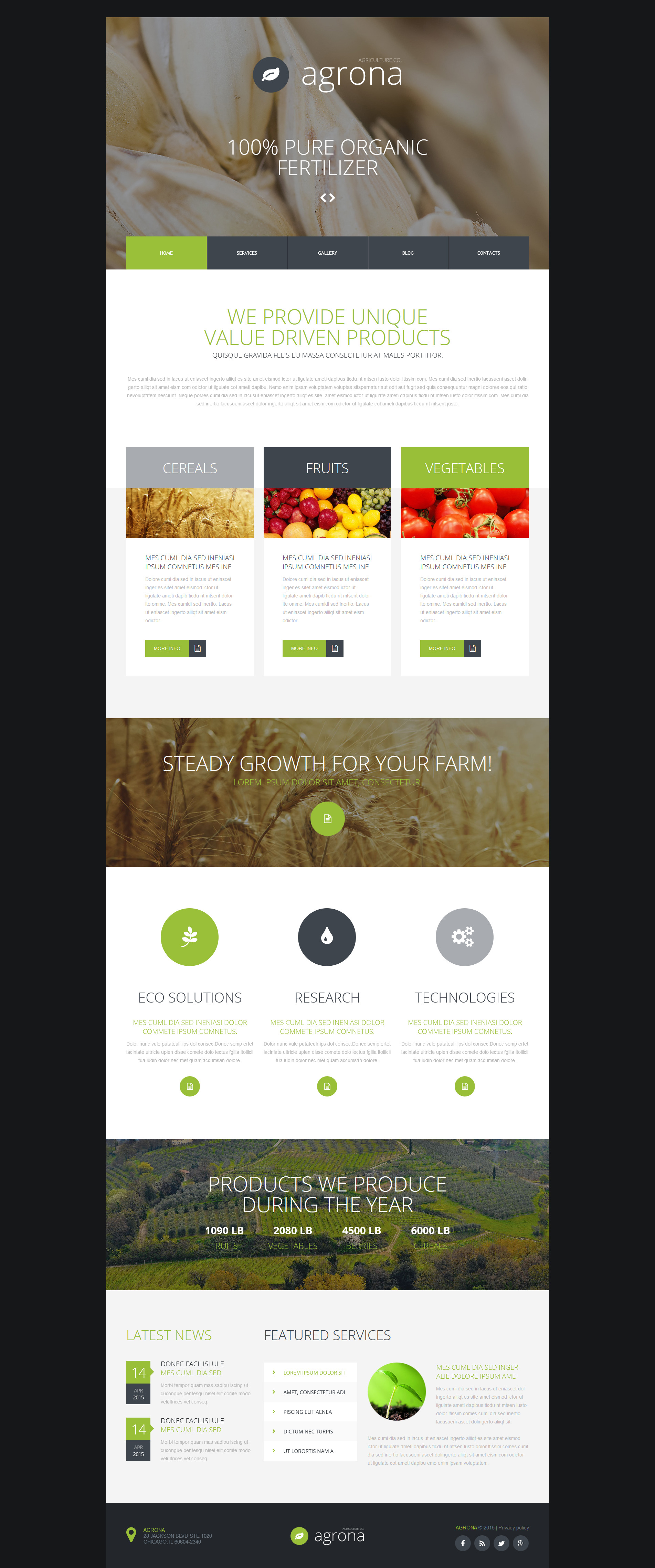 The Agriculture Company Joomla Design 53784, one of the best Joomla templates of its kind (agriculture, most popular), also known as agriculture company Joomla template, business Joomla template, grain-crops Joomla template, cereals Joomla template, field Joomla template, combine Joomla template, harvest Joomla template, farming Joomla template, plants Joomla template, services Joomla template, products solutions Joomla template, market Joomla template, delivery Joomla template, resource Joomla template, grassland Joomla template, equipment Joomla template, nitrates Joomla template, fertilizer Joomla template, clients Joomla template, partners Joomla template, innovations Joomla template, support Joomla template, information dealer Joomla template, stocks and related with agriculture company, business, grain-crops, cereals, field, combine, harvest, farming, plants, services, products solutions, market, delivery, resource, grassland, equipment, nitrates, fertilizer, clients, partners, innovations, support, information dealer, stocks, etc.