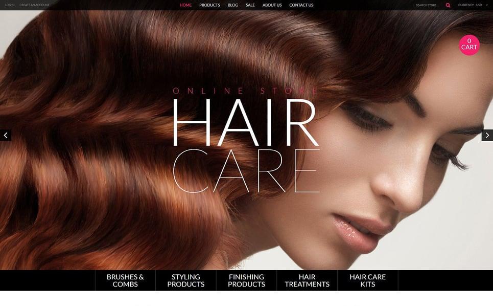 Tema Shopify Responsive para Sitio de Tienda de cosméticos New Screenshots BIG