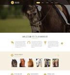 Animals & Pets Website  Template 53786