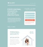 Security Landing Page  Template 53789