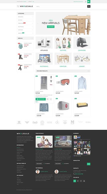 Magento Theme/Template 53792 Main Page Screenshot