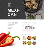 Cafe & Restaurant Muse  Template 53793