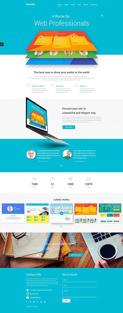 Joomla Theme/Template 53797 Main Page Screenshot