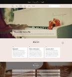 Personal Page Website  Template 53798