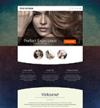 Fashion Landing Page  Template 53799