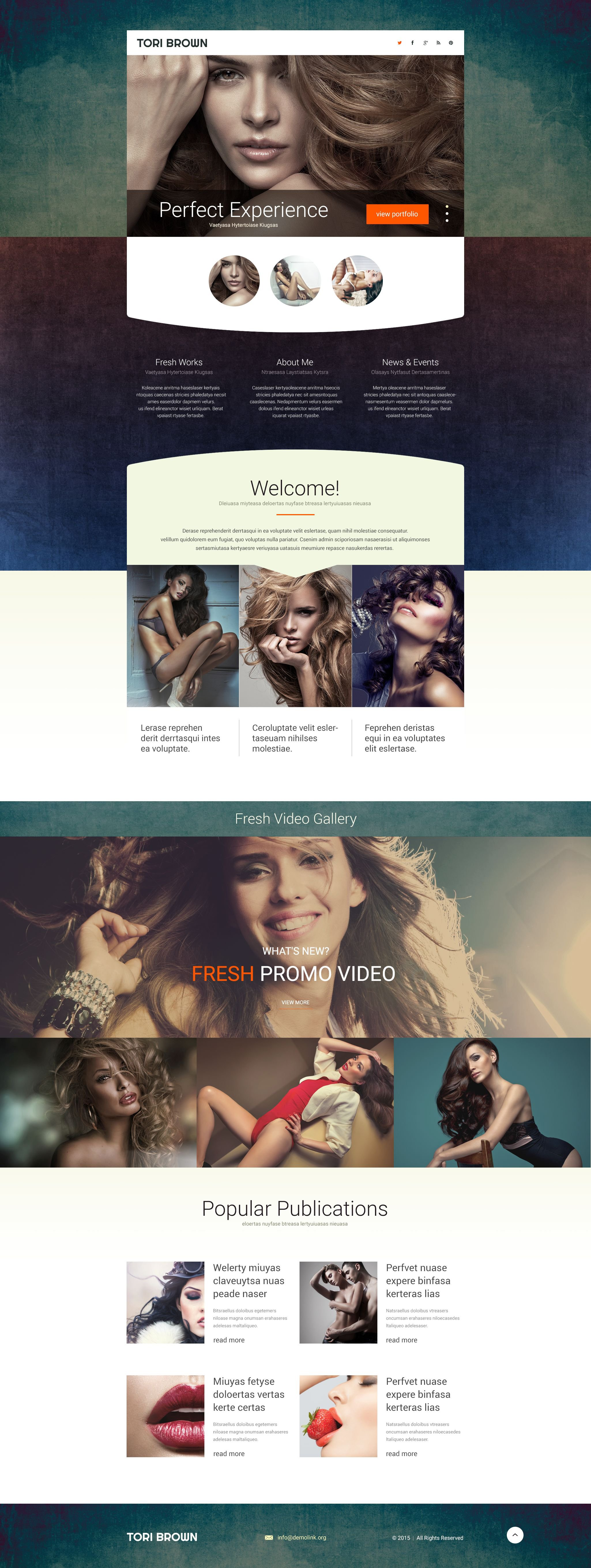 The Tori Brown Model Agency Landing Page Template Design 53799, one of the best Landing Page templates of its kind (fashion, most popular), also known as Tori Brown model agency Landing Page template, fashion Landing Page template, style Landing Page template, portfolio Landing Page template, photos Landing Page template, models Landing Page template, women Landing Page template, men Landing Page template, children Landing Page template, partners Landing Page template, catalogue Landing Page template, success career Landing Page template, job  order school Landing Page template, casting Landing Page template, audition Landing Page template, catwalk Landing Page template, podium Landing Page template, walk Landing Page template, clothes Landing Page template, photo Landing Page template, session Landing Page template, shows Landing Page template, beauty and related with Tori Brown model agency, fashion, style, portfolio, photos, models, women, men, children, partners, catalogue, success career, job  order school, casting, audition, catwalk, podium, walk, clothes, photo, session, shows, beauty, etc.