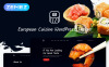 Адаптивный WordPress шаблон №53766 на тему европейский ресторан New Screenshots BIG