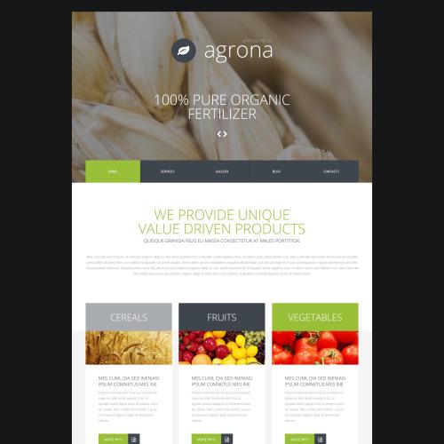 Agrona - Joomla! Template based on Bootstrap