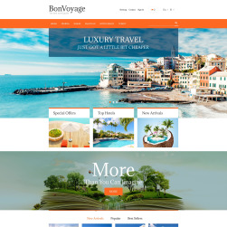 Travel Portal PrestaShop Theme