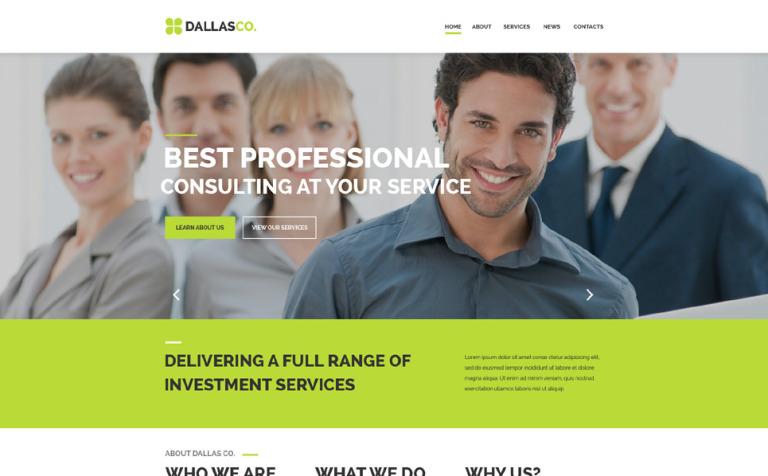 Business center web template business center website template new screenshots big flashek Images