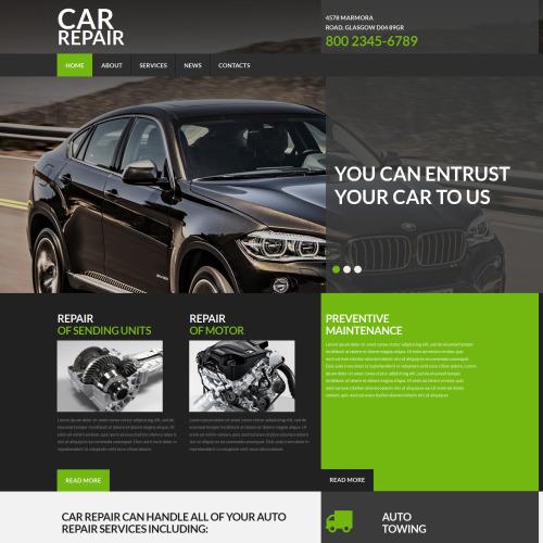 Car Repair - Car Repair and Recovery Template